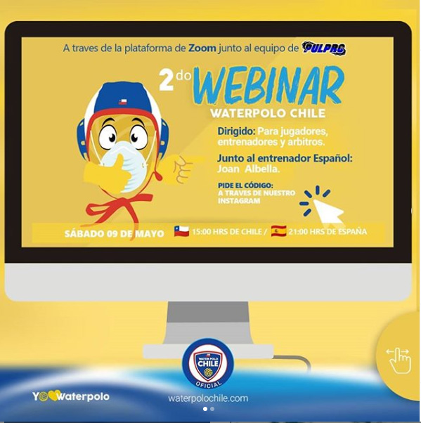 2do WEBINAR Waterpolo Chile