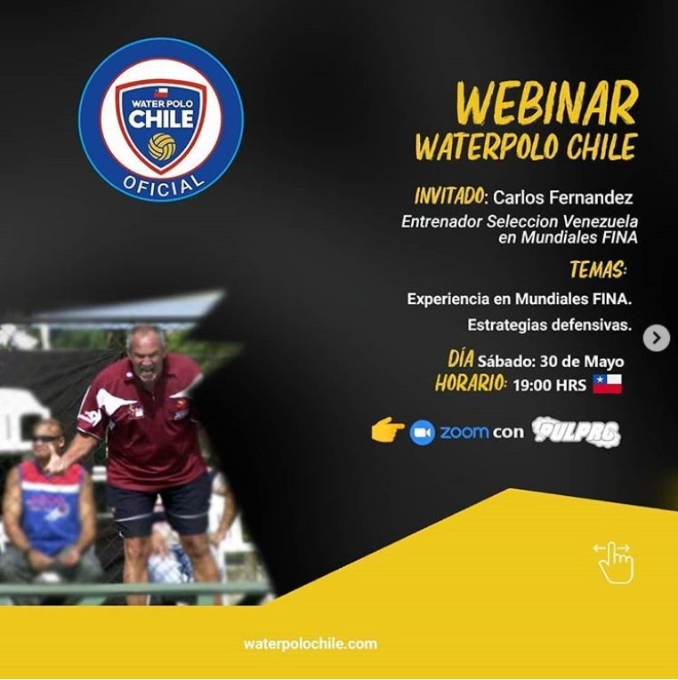 3er. WEBINAR Waterpolo CHILE