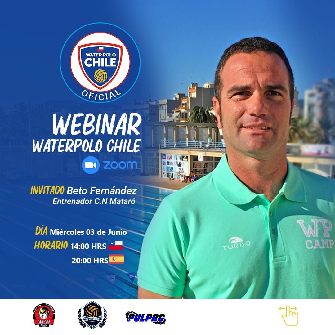 4to. WEBINAR Waterpolo CHILE